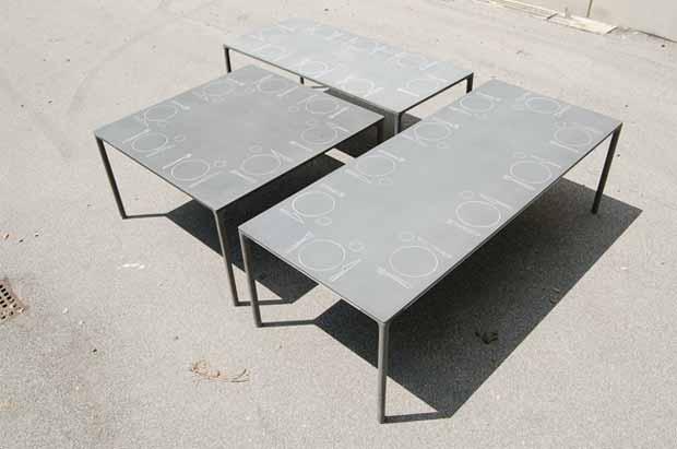 kristalia boiacca tisch design lucidipevere. Black Bedroom Furniture Sets. Home Design Ideas