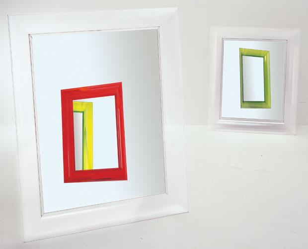 Kartell francois ghost spiegel design philippe starck - Spiegels kartell ...