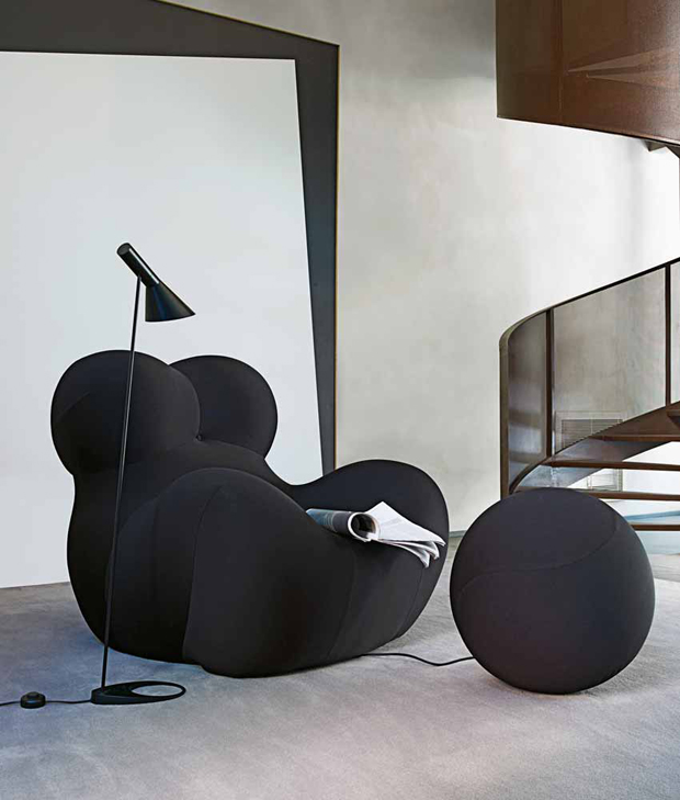 b b italia up 2000 sessel design gaetano pesce 2000. Black Bedroom Furniture Sets. Home Design Ideas