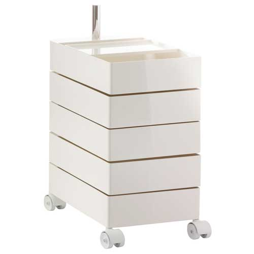 Rollcontainer bad  MAGIS - 360°Container (design Konstantin Grcic)