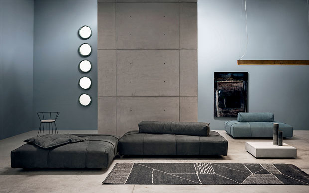 Baxter sofa panama bold design paola navone for Divano damasco baxter