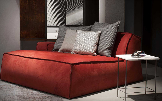 Baxter sofa damasco for Divani scandinavi