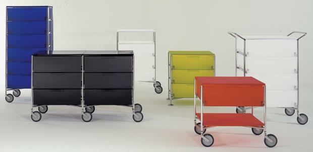 kartell mobil aufbewahrungssystem. Black Bedroom Furniture Sets. Home Design Ideas