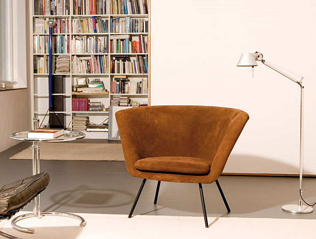 Mobel Boss Gorlitz ~ Richard lampert sessel h57 design: herbert hirche 1957