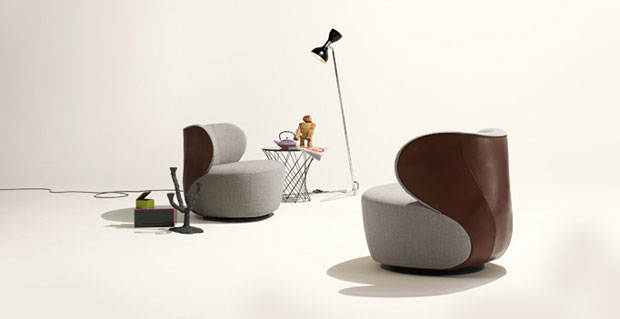 walter knoll bao sessel design eoos. Black Bedroom Furniture Sets. Home Design Ideas