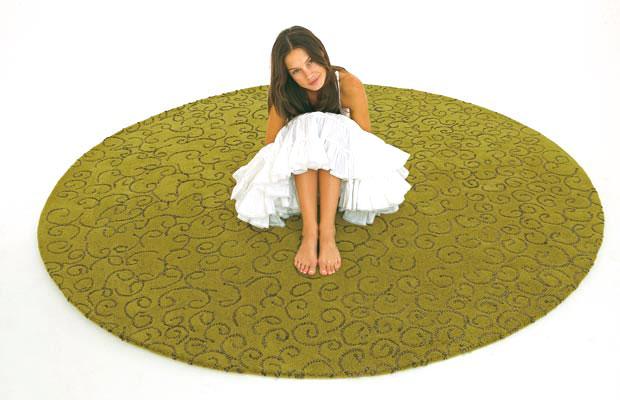 Runder teppich 250 cm  NANIMARQUINA - NOODLES Teppich (design: Nani Marquina)