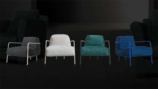 Baxter Sessel Bruxelles Design Paola Navone