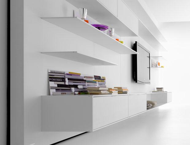 mdf italia elevenfive 08 regal. Black Bedroom Furniture Sets. Home Design Ideas
