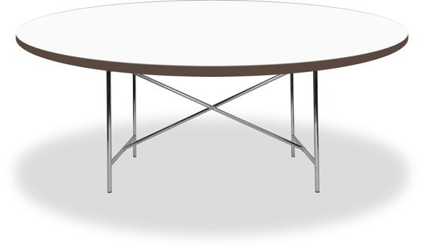 Tischplatte rund weiß  Egon Eiermann 2 Tisch / Tischgestell / Tischplatten und Zubehör