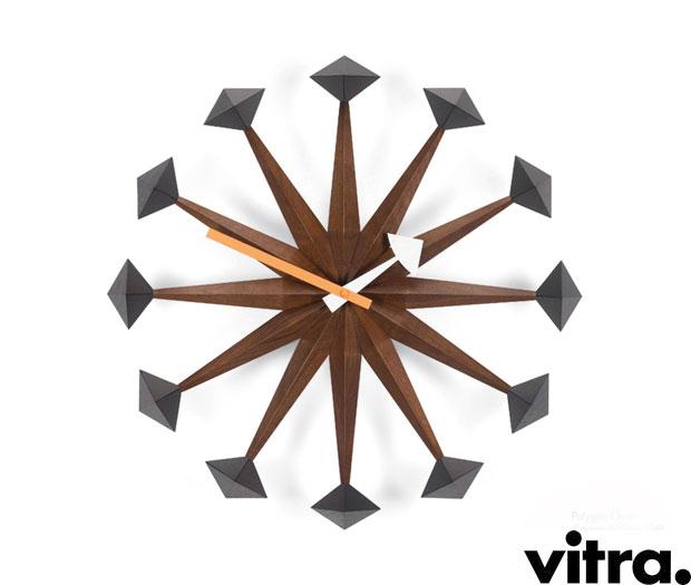 vitra polygon clock design george nelson. Black Bedroom Furniture Sets. Home Design Ideas