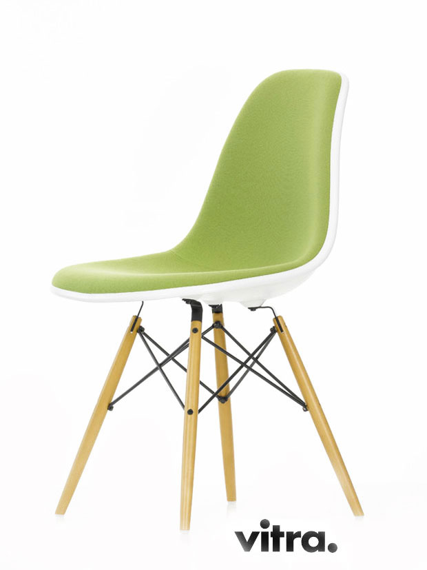 VITRA EAMES PLASTIC SIDE CHAIR DSW(Charles & Ray Eames 1950)