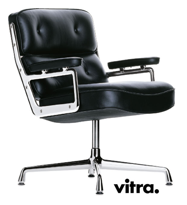 Vitra lobby chair es 105 design charles ray eames 1960 for Teppich vitra