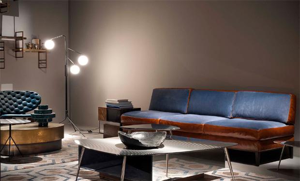 BAXTER - GODARD SOFA ( design: Matteo Thun & Antonio Rodriguez)