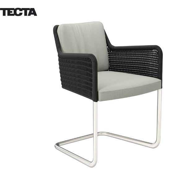 tecta d 43 armlehnenstuhl design tecta 2014. Black Bedroom Furniture Sets. Home Design Ideas