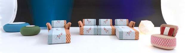 Moroso sushi collection sessel sofa hocker design for Cuscino sushi
