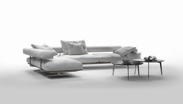 Flexform Wing Sofa Design Antonio Citterio 2014