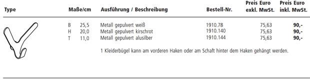 Sch nbuch haken 1910 design matthias demacker for Rimadesio preise